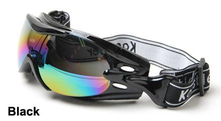 Black Alpha goggles