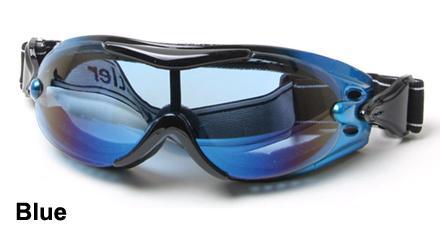 Blue alpha goggles