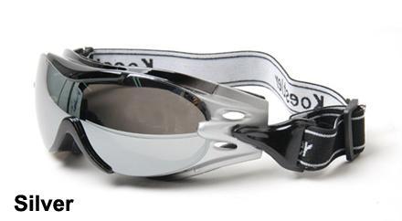silver alpha goggles